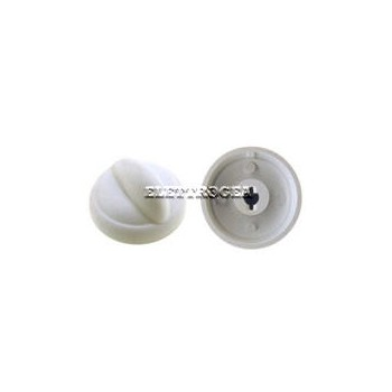 Portalampada in ceramica completo di calotta in vetro con 3 molle, diametro esterno 64mm